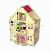 Toy Doll, Composed of Woody House, Girl Doll and Boby Doll images