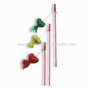Cat Swing Toys with 47cm Stick, Available in Various Colors images