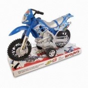 Friction Power Toy Motorcycle, Various Colors are Available images