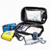 Emergency Box/Kit, Composed of Medical Backpack, Gauze Pad, Bandages and Butterfly Strips images