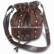 Leather Handbag, Fashionable Design, OEM Orders are Welcome images