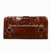 Leather Handbag, Made of PVC, Various Designs and Colors are Available images