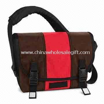 Laptop Messenger Bag, Made of Ripstop and Polyester Material