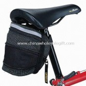 Bicycle Saddle Bag with PE Liner and One Compartment images
