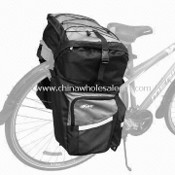 Bike Pannier Bag, Made of 100% Polyester with PU Coating, Measures 48 x 32 x 56cm images