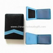 Card Holder with Clear Card Windows, Available in Various Colors and Sizes images