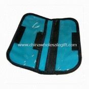 Checkbook/Passport Holder with Velcro for Closure, Suitable for Promotional Purposes images