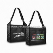 Eco-friendly Messenger Bag, Ideal for Promotional Purposes, Made of RPET Fabric images