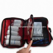 Emergency Medical Bag, Includes Adhesive Bandage Strips, Suitable for Traveling images