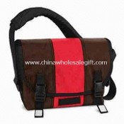 Laptop Messenger Bag, Made of Ripstop and Polyester Material images