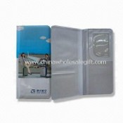 Passport Holder in Various Compartments, Available in Gray images