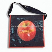 PP Non-woven Promotional Shoulder/Messenger Bag with Velcro Tape, Measures 44 x 33 x 13cm images