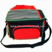 Promotional Bicycle Cooler/Lunch Bag with Rain Cover and PP Webbing Shoulder Strap images
