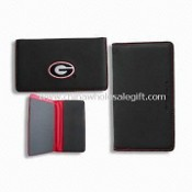 PU Passport Holders with Two Large Pockets, Available in Various Matching Colors images