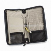 Travel Document Organizer with Eight Interior Card Pockets images
