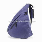 Trendy Triangle-shaped Rucksack, Made of 600D Polyester images