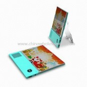 Digital Photo Frame with Recordable and Talking Features, Measuring 130 x 130 x 7mm images