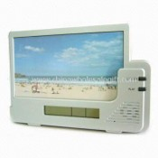 6-second Voice Recording Photo Frame with Clock and Calendar Functions images