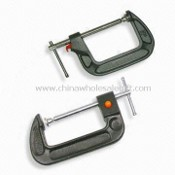 G-clamps with Push Button and Fast Adjustment, Available in Various Sizes images