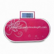 Mini Bathroom Scale with 150kg Capacity and Blue Backlight Drawable Display images