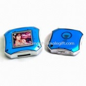 Mini Digital Photo Frame with Clock, Calendar and Playback, Voice Recording, Background MP3 Music images