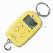 Mini Hanging Scale with 10/20kg Capacity, Available in Silver, Blue and Orange Colors images