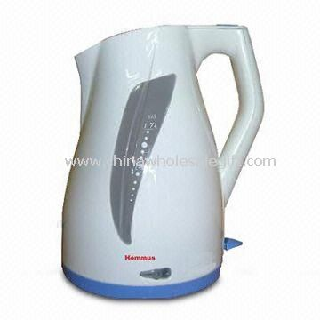 how to clean a plastic electric kettle