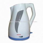 Electric Plastic Kettle with Water Level Indicator images