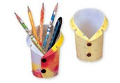 Plastic Shirt Pen Holder images