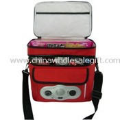 12 Cans Cooler Bag with Radio FM/AM images