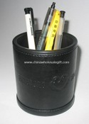 Plastic and PU Pen Holder images