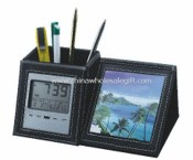 Pen Holder Calendar with Photo frame images