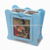 Pen Holder Combines with Photo Frame images