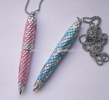 Crystal Pen with Metal Chain images