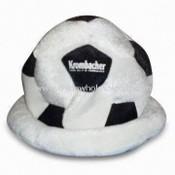 Football Designed Hat, Available in Various Colors, Made of Sponge-compound images