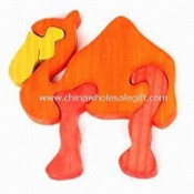 Infant Puzzle with Camel-shaped Design, Made of Solid Wood images
