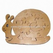 Solid Wood Animal Jigsaw Puzzle images