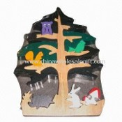 Solid Wood Tree 3D Puzzle, for Exciting and Stimulating Kids Intelligence images