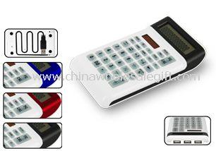 Mini Keyboard Calculator W/USB HUB