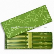 24 cm Chopsticks, Made of Bamboo, Each Set Contains Four Pairs of Chopsticks images
