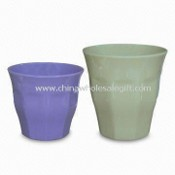 Color Melamine Cup with Tasteless and Nontoxic Features, Available in Various Designs images