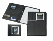 Leather Note Book With Calculator images