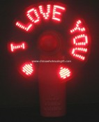 LED Flash Message Fan images