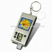 Digital Photo Keychain Timer with 1.5-inch LCD Screen images
