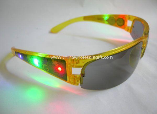 Flashing Sunglasses