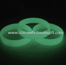 Glow in Dark Silicone Bracelet images