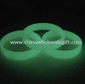 Glow in Dark Silicone Bracelet