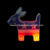 Magnetic Body Flashing Light Pin in Deer Shape images