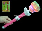 Flashing Rose Spinner Stick W/Music images