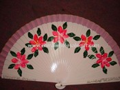 Wooden Spanish Fan images